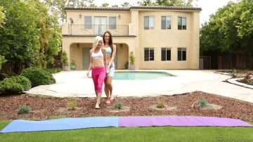 Jenna Sativa - Yoga Girlfriends