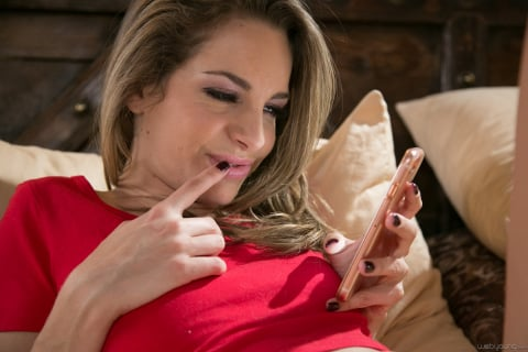 Girlsway 'I Caught My Sister: Part Two' starring Kimmy Granger (Photo 16)