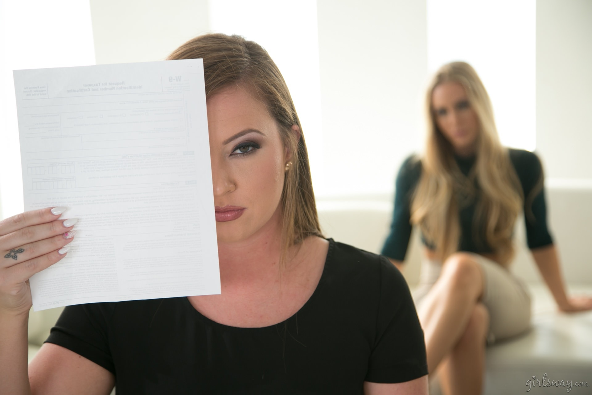 Girlsway 'Undercover Pleasure - Part One: The Prototype' starring Maddy O'Reilly (photo 6)