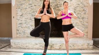 Aidra Fox in 'Hot Yoga'