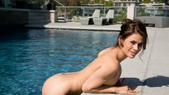 Lola Foxx in 'Our Little Afternoon By The Pool'